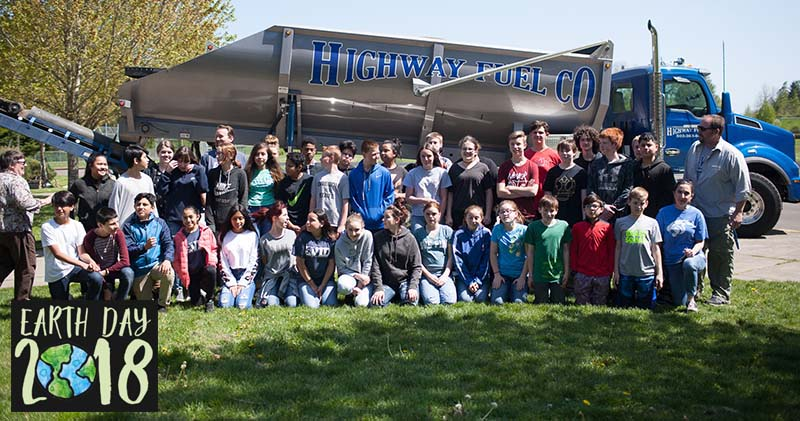 Highway Fuel Earth Day 2018 at CCMS